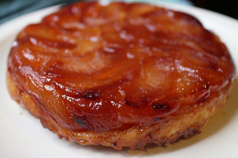 تارت تانن یکی از شیرینی های پاریس