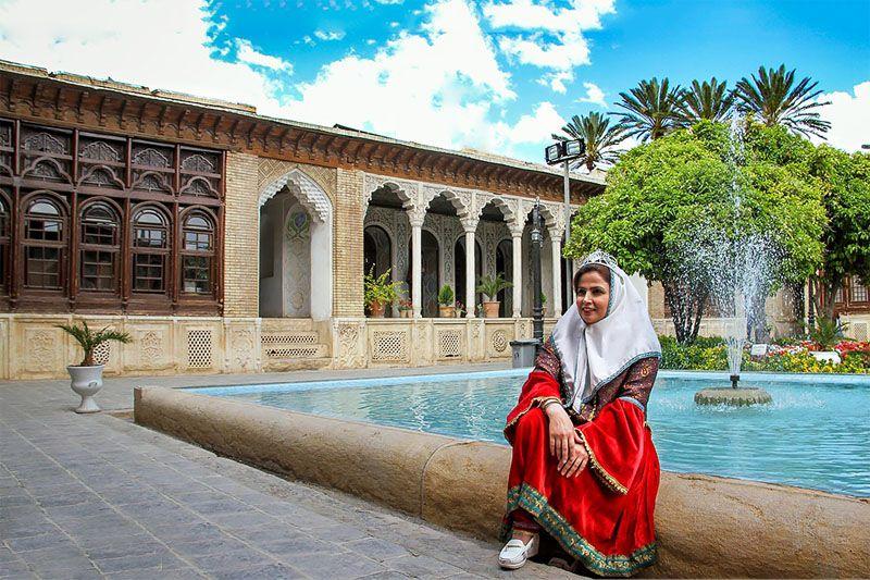 خانه زینت الملک از دیدنیهای شیراز همراه عکس
