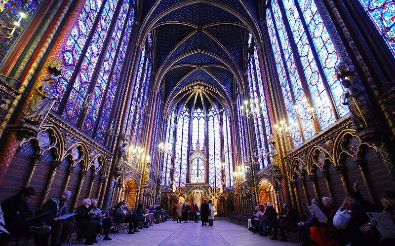 با دیدن تصاویر سن شپل، سفر مجازی به پاریس را تجربه کنید.