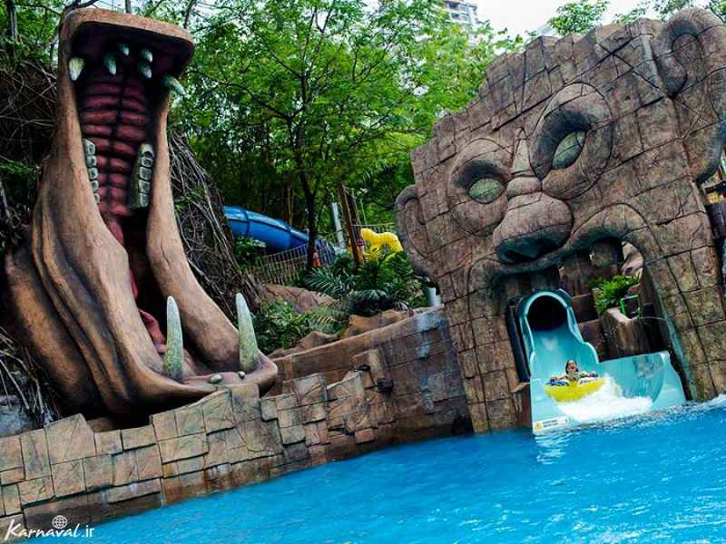 در سفر به مالزی با بچه از تفریحات آبی فراموش نکنید!