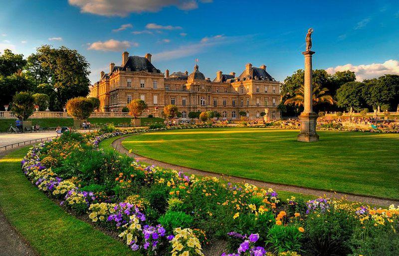 باغ لوکزامبورگ که حتما در طول مسافرت به پاریس باید از آن بازدید فرمایید.