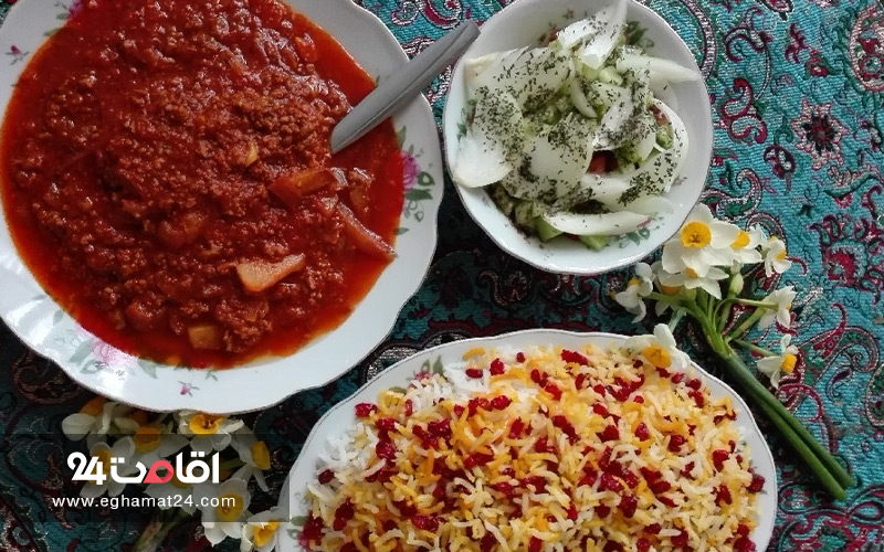 غذاهای محلی چالوس