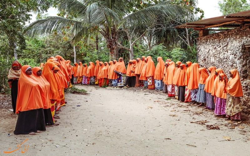 سنت ها و آداب و رسوم مردم تانزانیا