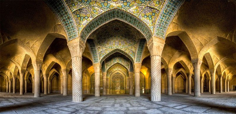 مسجد وکیل از دیدنیهای شیراز عکس