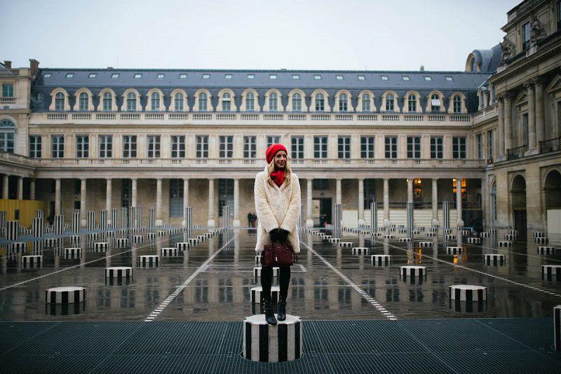 کاخ پادشاهی پله روایال از تمام جاهای دیدنی پاریس زیباتر است.
