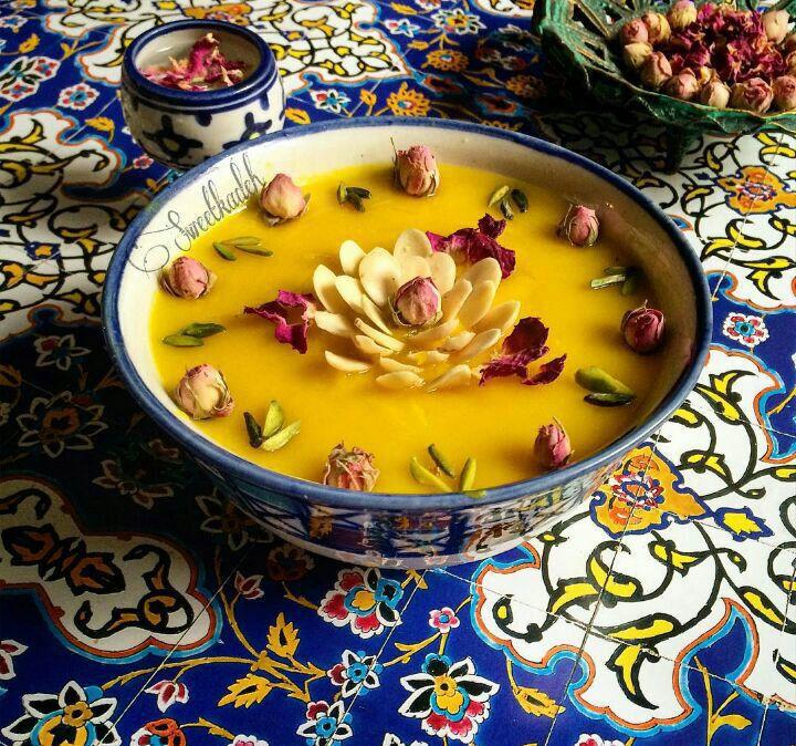 حلوای کاسه ازجمله سوغات شیراز خوردنی