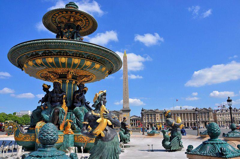 در سفر به پاریس در پاییز حتما سری به میدان کونکورد بزنید.