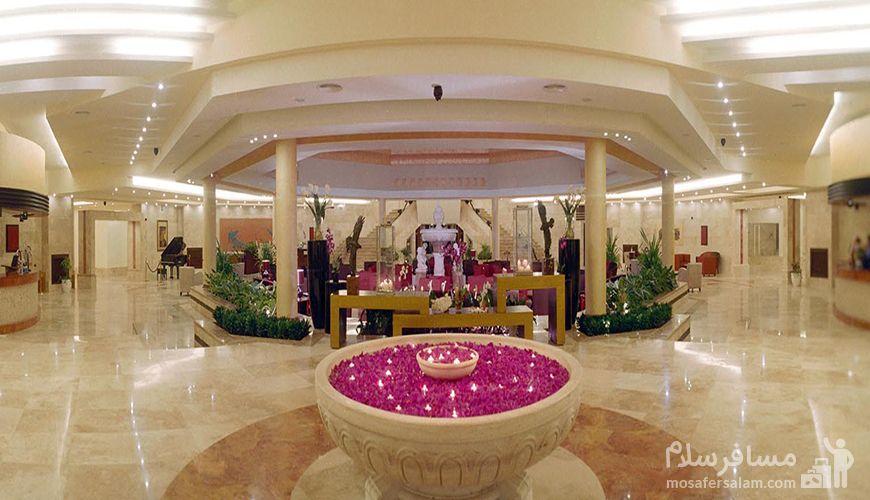 لابی هتل مارینا کیش, گروه گردشگری مسافر سلام