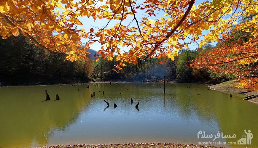 دریاچه چورت, پاییز مازندران