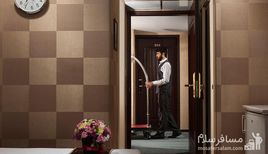 خدمات هتل رضویه