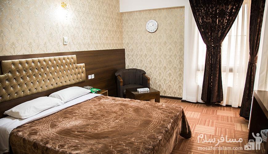 اتاق خواب هتل رضویه, رزرواسیون مسافر سلام