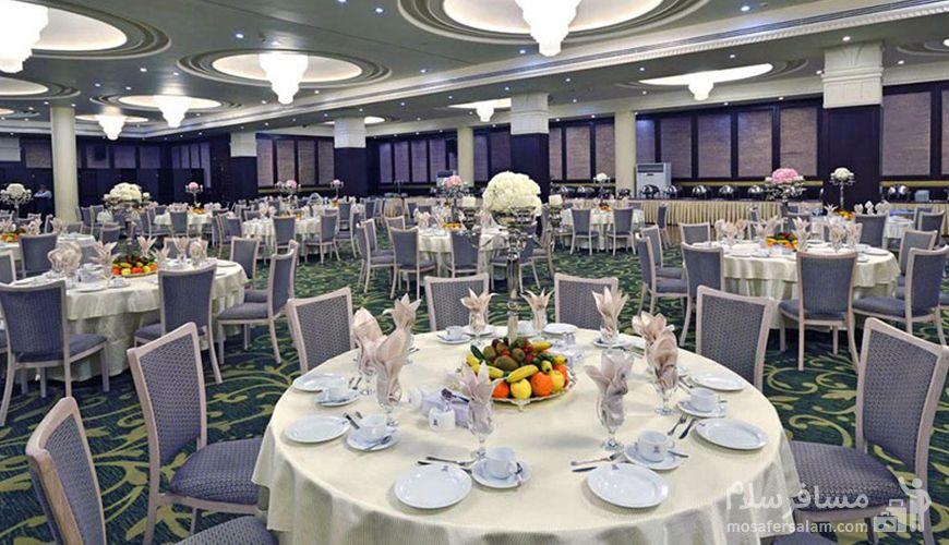 تالار عروسی هتل اسپیناس, گروه گردشگری مسافر سلام