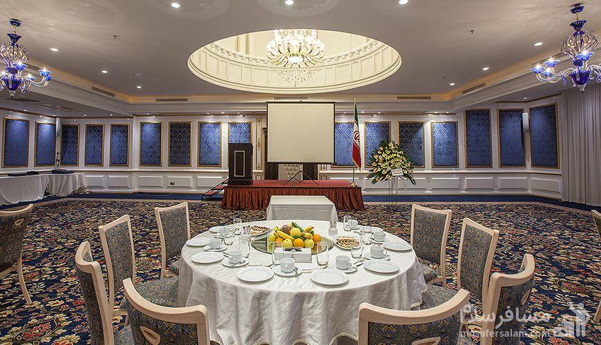 تالار ایوان هتل اسپیناس پالاس تهران