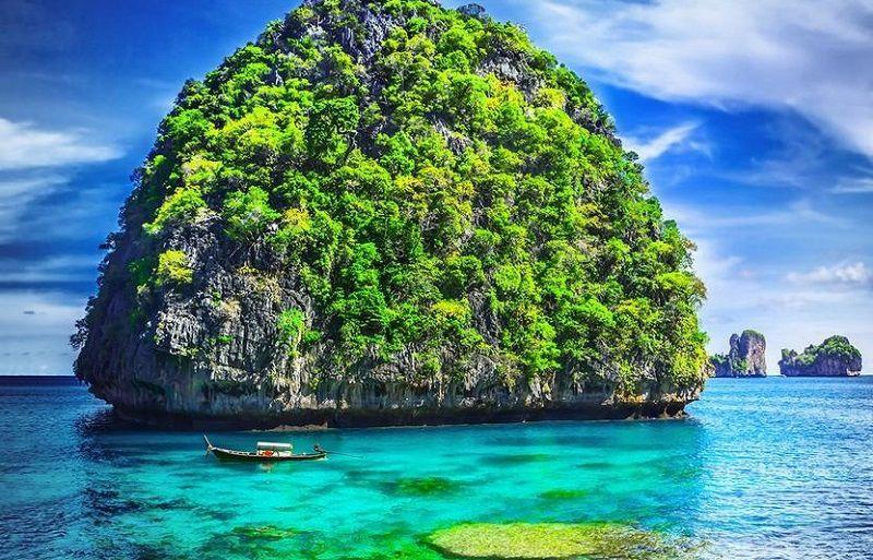 کرابی یکی از جاهای دیدنی تایلند همراه با عکس
