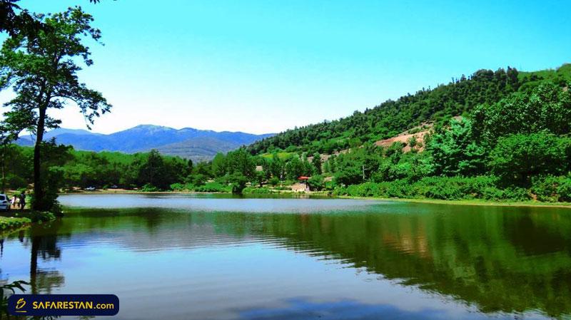 دریاچه حلیمه جان ، عروسی زیبا در گیلان