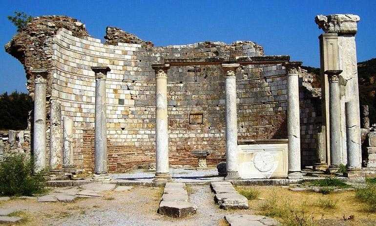 جاهای دیدنی افسوس ترکیه ، ویرانه باستانی ترکیه