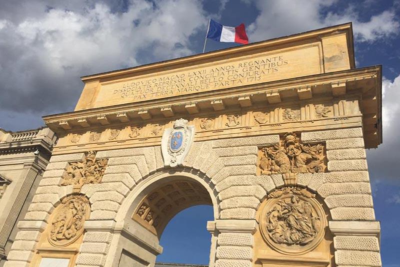 جاهای دیدنی مون پلیه فرانسه
