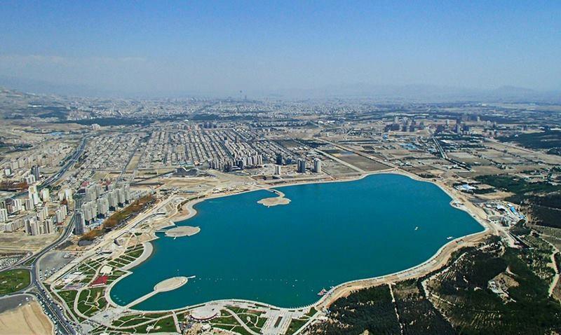 دریاچه چیتگر تهران