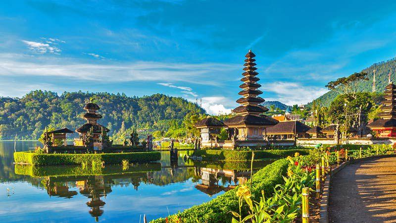 آب و هوای عالی جاهای دیدنی بالی در اندونزی