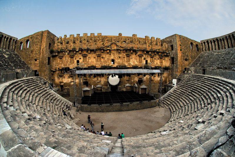 در سفر به انتاليا حتما از شهر باستانی آسپندوس بازدید فرمایید.
