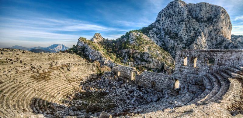 شهر باستانی ترمسوس از مکانهای دیدنی آنتالیا ترکیه
