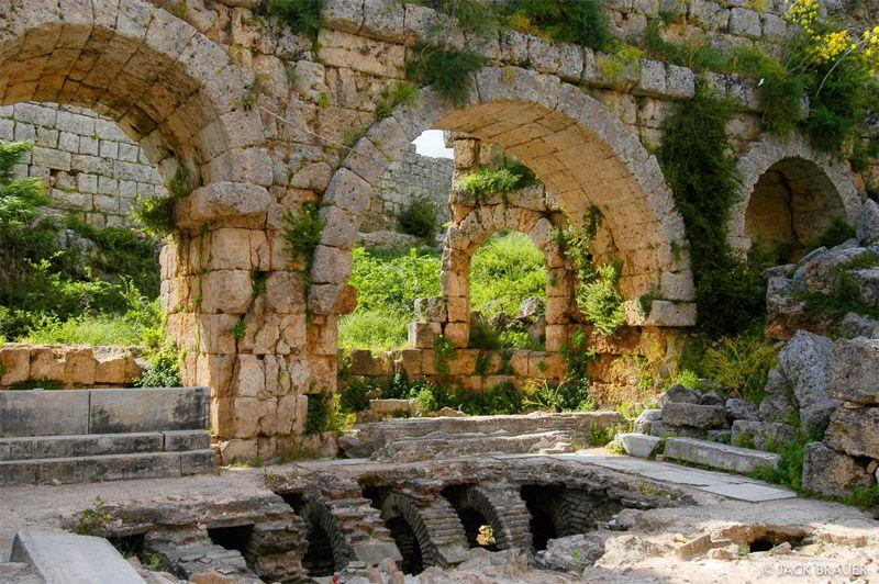 شهر باستانی پرگه از مکان هاي ديدني انتاليا