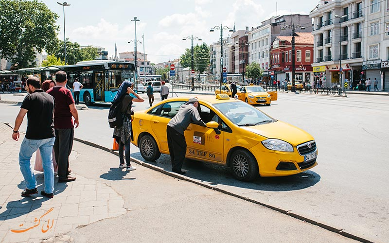 آشنایی با نکات مهم تاکسی گرفتن در استانبول