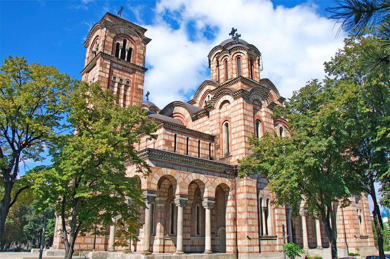 کلیسای جامع سنت مارک از جاهایی است که در خاطرات سفر به صربستان ثبت خواهد شد.