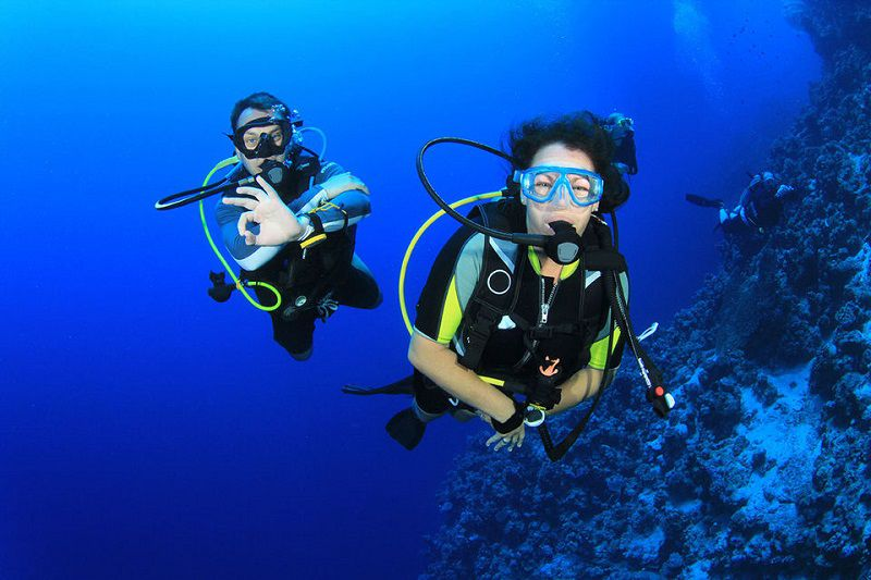 غواصی در آب های مدیترانه - جاهایی دیدنی آنتالیا