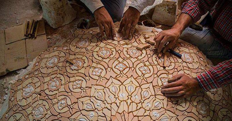 منبت کاری؛ سوغات تبریز افتخاری
