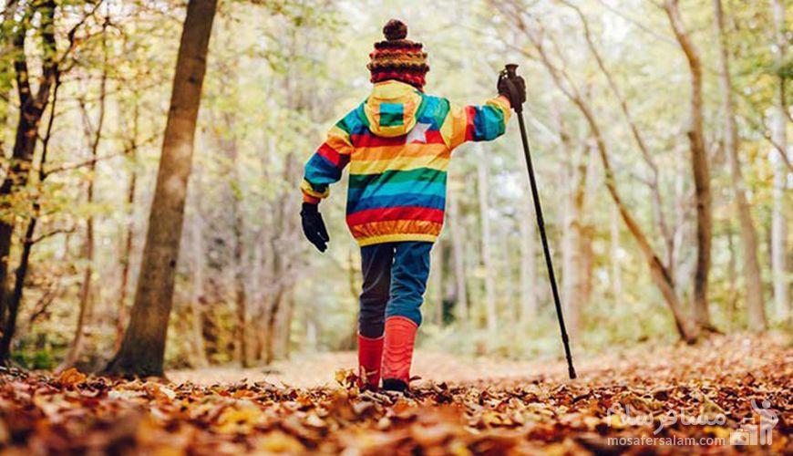 فصل پاییز و بینظیرترین تجربه مسافرت