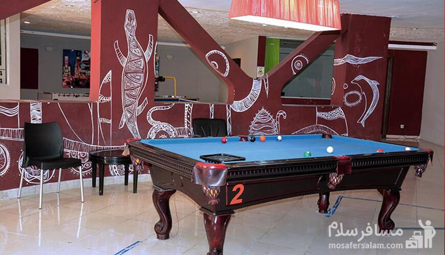 میز بیلیارد, هتل گراند کیش