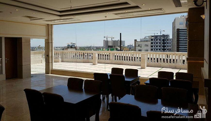 هتل نسیم مشهد, رستوران