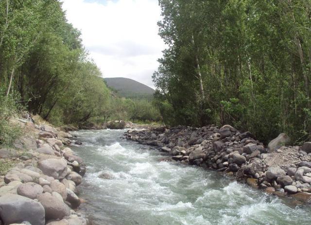 رودخانه کرج چالوس ، جاذبه های طبیعی کرج